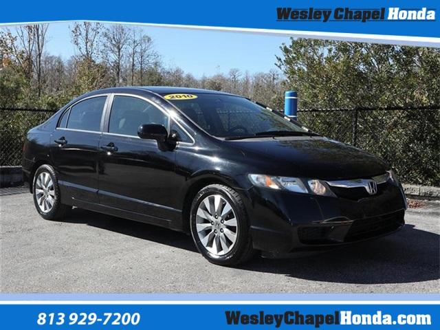 Pre-Owned 2010 Honda Civic 4dr Auto EX-L w/Navi