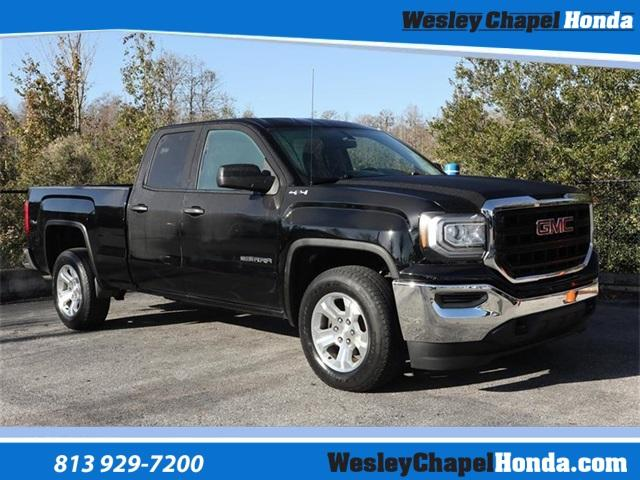Pre-Owned 2016 GMC Sierra 1500 4WD Double Cab 143.5