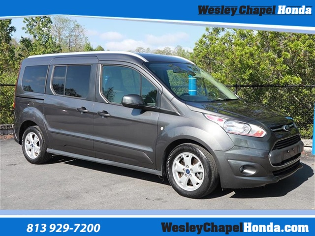 eb6fbee4af Pre-Owned 2016 Ford Transit Connect Titanium 4D Wagon in Wesley ...