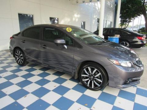 Pre-Owned 2015 Honda Civic 4dr CVT EX-L w/Navi