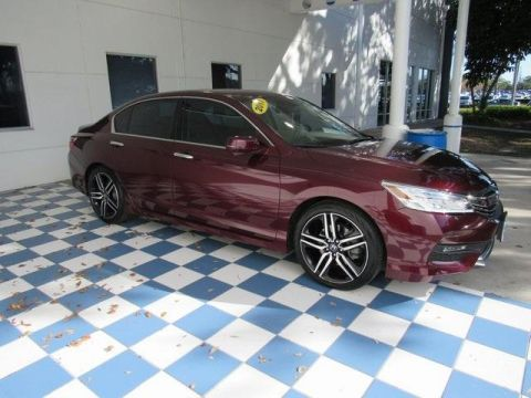 Pre-Owned 2017 Honda Accord Touring Auto