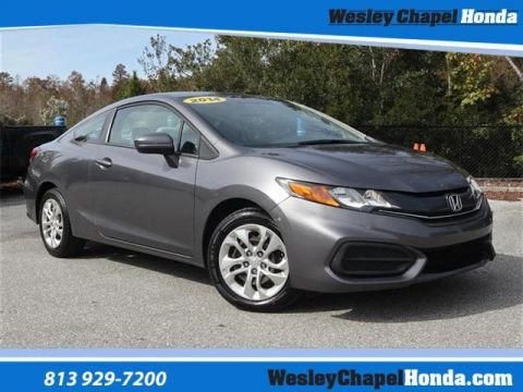 Pre-Owned 2014 Honda Civic 2dr CVT LX