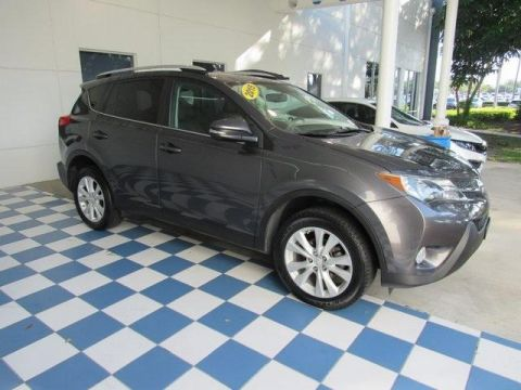 Pre-Owned 2015 Toyota RAV4 AWD 4dr Limited
