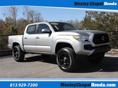 Pre-Owned 2020 Toyota Tacoma SR5 Double Cab 5' Bed I4 AT